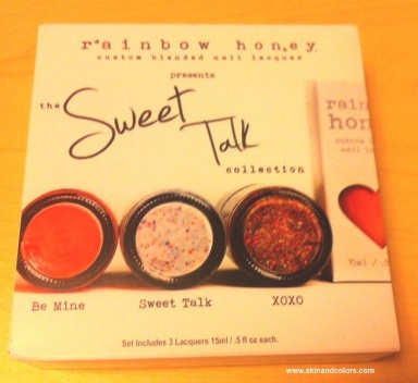 The Sweet Talk Collection by Rainbow Honey. (© skinandcolors.com)