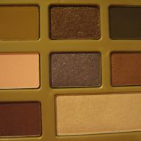 Too Faced Chocolate Bar Palette photographed in indoor lighting (right half) © skinandcolors.com