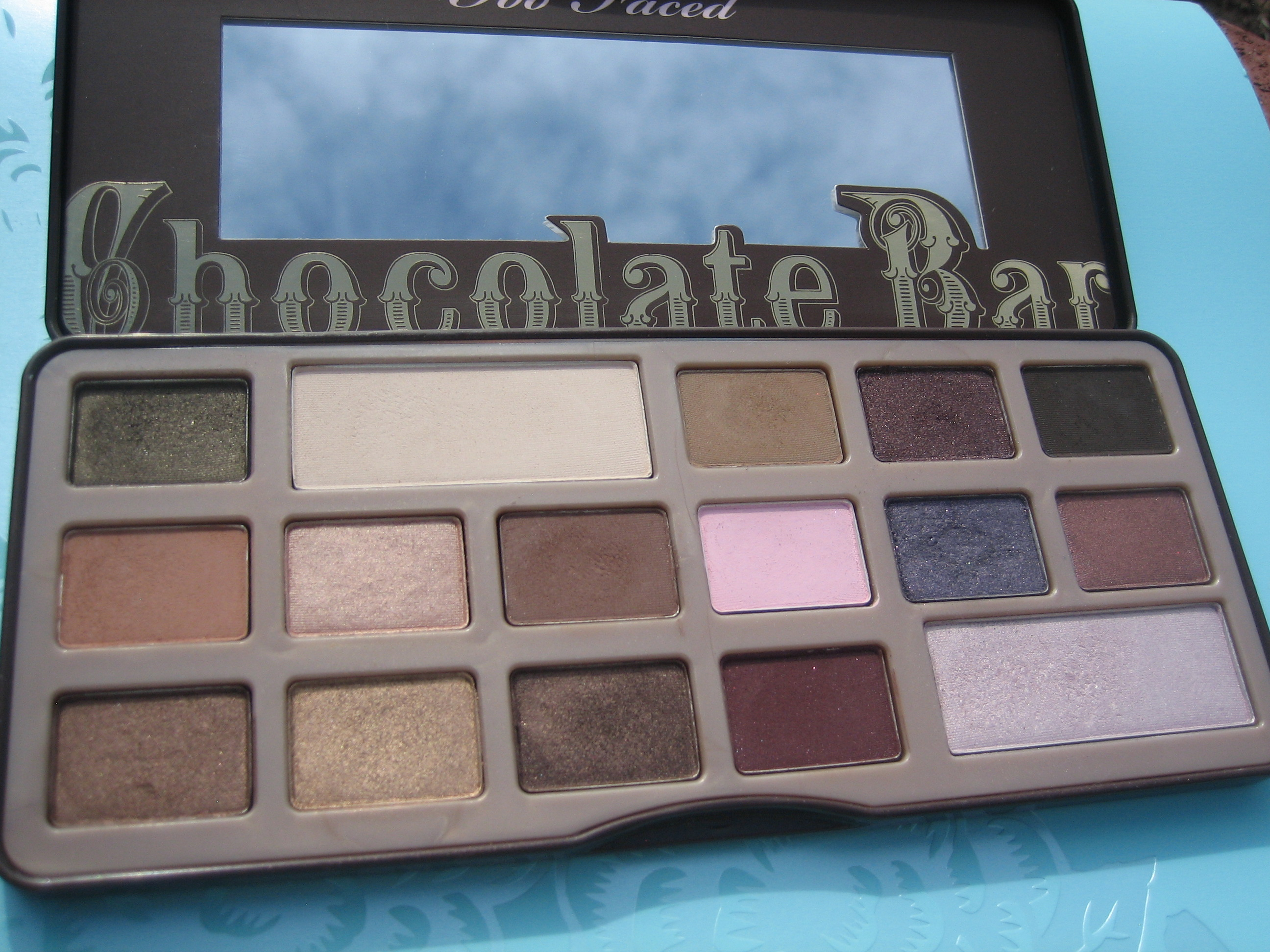 My precious. Cocoa Delights – Too Faced Chocolate Bar Palette ...