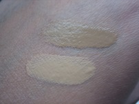 CC+ Your Skin But Better in Tan (top) and Medium (bottom) in outdoor lighting (© skinandcolors.com)