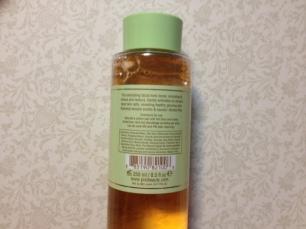 Pixi Glow Tonic Ingredients © skinandcolors.com