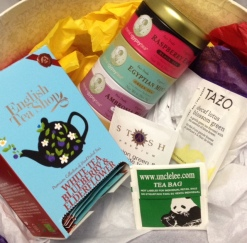 A selection of some of my favorite teas © skinandcolors.com